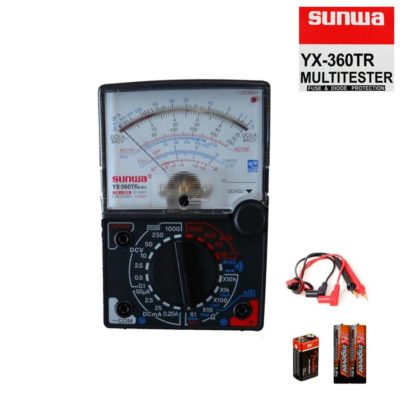 Sunwa Multimeter YX 360TR E-L-B with Fuse Diode Protection |